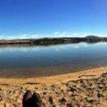 Panoramic view of Tomales Bay