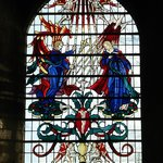 Romsey Abbey Stained Glass window
