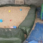 Sand pit or goat loo?