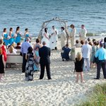 A Beach Wedding Ceremony