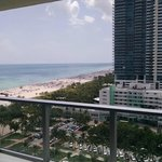 South Beach View from room