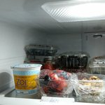 Even in the fridge, all clear and well prep
