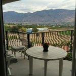 Balcony and view from Merlot room