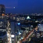 Tokyo from the Club Lounge
