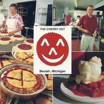 Kitchen Scenes of Delicious Cherry Pie