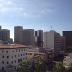The view of Downtown San Diego from Room 1088 - Impressive!!!