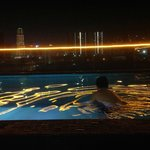 Yes it's me in this beautiful infinity pool.. :)