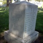 Burial Monument for U.S. Cavalry Soldiers