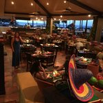 Picture taken in hotel restaurant - Mexican evening