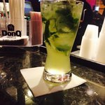 Don Q con mojito... Happy hour $3.75...