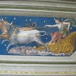 Mythical fresco