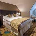 Our double room can be made into twins at your request on booking