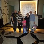 our arrival at 2am, with the smilling front desk staff