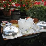 Room Service Breakfast on the Terrace