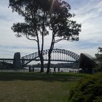The Harbour Bridge from a distance