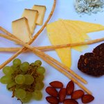 Selection of cheese...