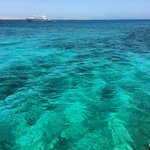 the sea was crystal clear and amazing