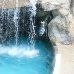 Pool waterfall