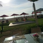 Before the sunset at Xana Beach Club located in Angsana