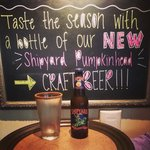 Fall into the Woodbridge Olive Garden! Try a delicious pumpkin beer and a piece of our decadent