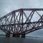 View of the Forth Rail Bridge from the ferry