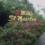 Maho St. Maarten - lovely well maintained grounds