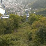 Chair lift at Boppard - well worth going to the top