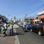 Kuta streets can be quite manic