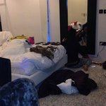 Lovely room except our mess all over lol
