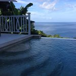 View from our private plunge pool - Villa 701