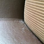 Dust on the chair