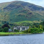 view of the Inn from Lake Ullswater