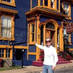 Ann Dunham at The Mariner King. Lunenburg, Nova Scotia, Canada. Photo by Terry Hunefeld.