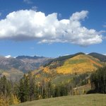 View from near Eagle's Nest, Vail 9-24-14