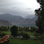 The view over Gilgit from my balcony