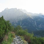 View along Popradske Pleso hike