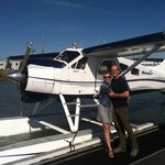 flying to Clayoquot Wilderness
