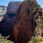 Last trail to the top of Angel's Landing
