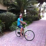 Cycling Lummus Park with Hotels free bikes