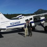 Skagway mountain and glacier flight