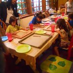 Activities for the local children take place once a week at the main dining room.