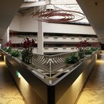 Entrance balcony. You can enjoy the music played downstairs in lobby/restaurant area.
