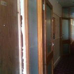 Door frames were like this on floor one
