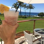 The for a foo foo drink at the pool bar!  Can't beat this view!