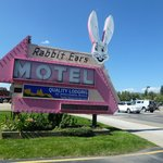 Rabbit Ears historic sign.