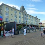 Front of hotel from Boardwalk