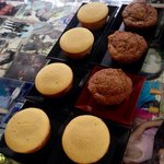 Yaaay! These yummy Calamansi & Ultimate Muffins on our table. �� I can take em all.