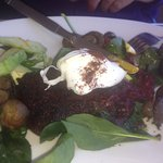 Beetroot  and potato f