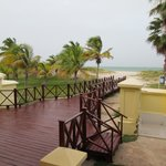 Walkway from Blau Marina Varadero lobby to beach