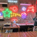 Neon Shop, he just made the tube on the table